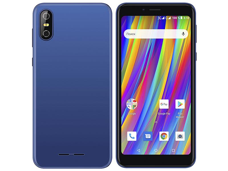 Сотовый телефон teXet TM-5083 Pay 5 3G Blue