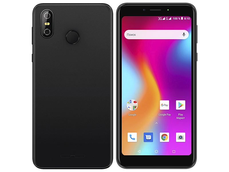 Сотовый телефон teXet TM-5583 Pay 5.5 3G Black