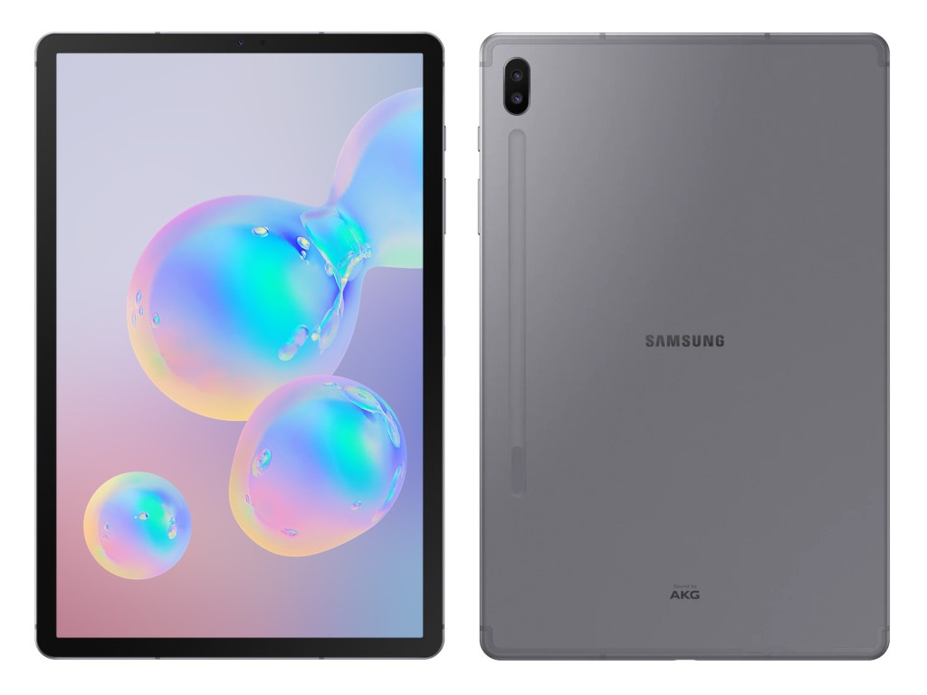 Планшет Samsung Galaxy Tab S6 10.5 SM-T860 - 128Gb Gray SM-T860NZAASER (6144Mb/128Gb/GPS/Wi-Fi/Bluetooth/Cam/10.5/2560x1600/Android) чехол g case для samsung galaxy tab s6 10 5 sm t860 sm t865 slim premium black gg 1166