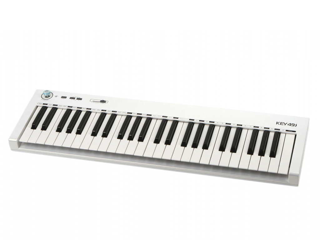 MIDI-клавиатура Axelvox KEY49j White axelvox skymia hd аудиоинтерфейс