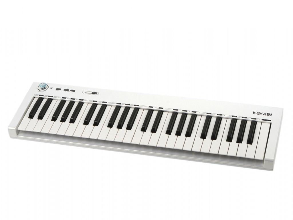 MIDI-клавиатура Axelvox KEY49j White