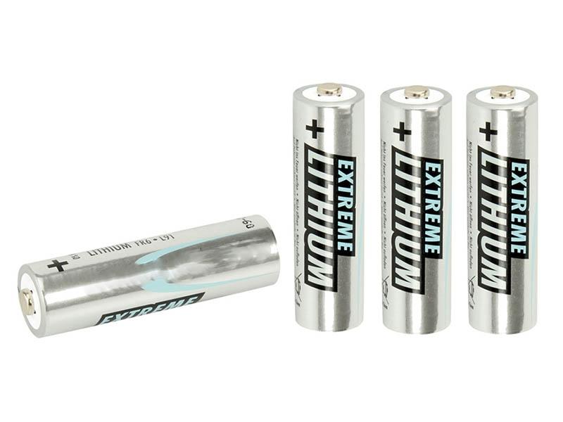 Батарейка AA - Ansmann Extreme Lithium FR6 BL4 (4 штуки) 1512-0002