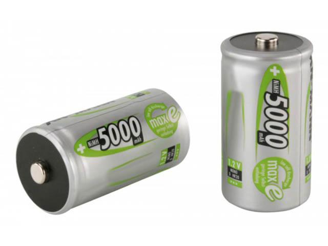 Аккумулятор D - Ansmann MaxE 5000 mAh BL2 (2 штуки) 5030922-RU