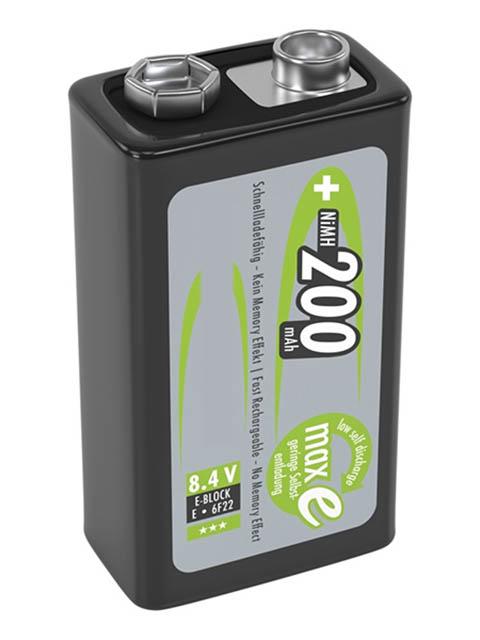 Аккумулятор Крона - Ansmann MaxE 200 mAh BL1 (1 штука) 5035342
