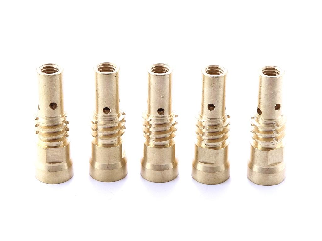 Адаптер контактного наконечника Fubag M10x60mm 5шт FB.TA.M10.60