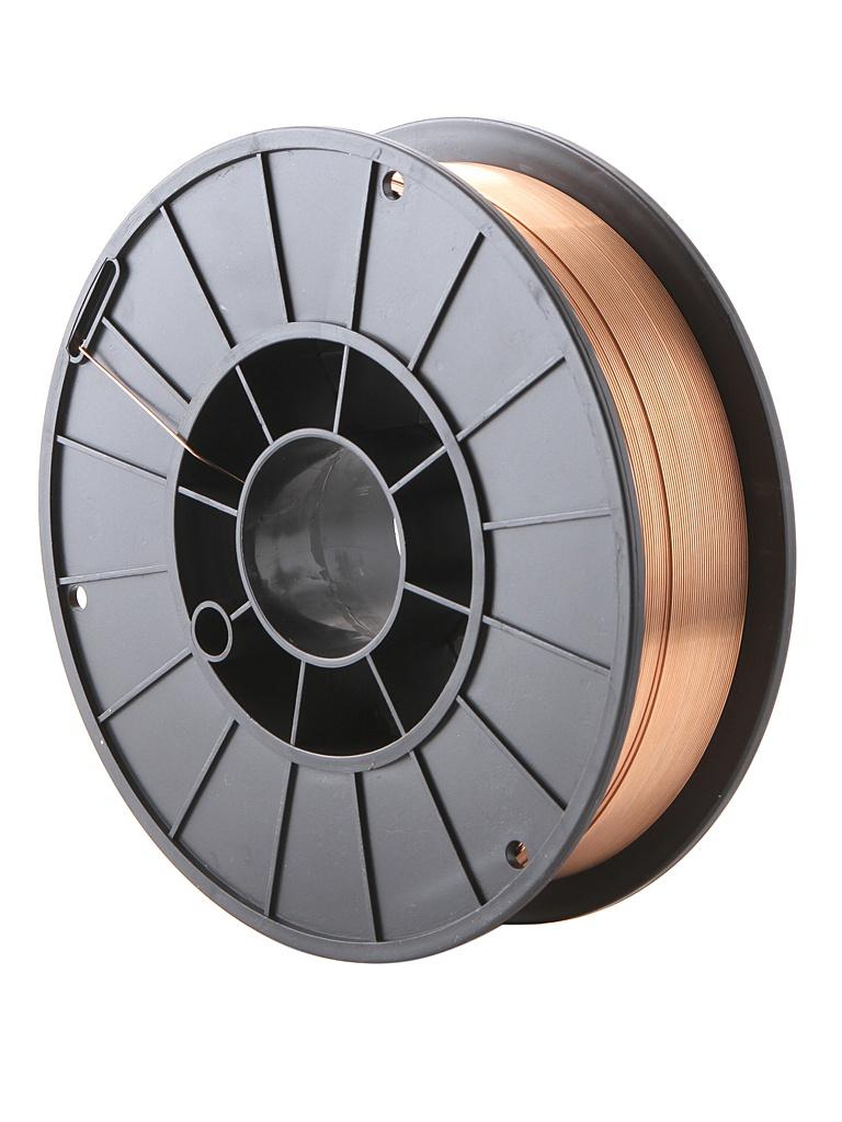 Проволока сварочная сплошного сечения Fubag FB 70S 0.8mm 5.0kg 31 518