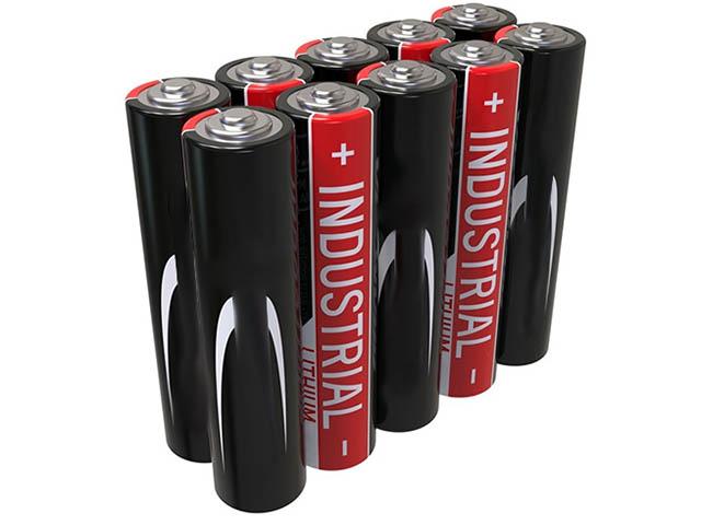 Батарейка AAA - Ansmann Industrial Alkaline LR03 (10 штук) 1501-0009