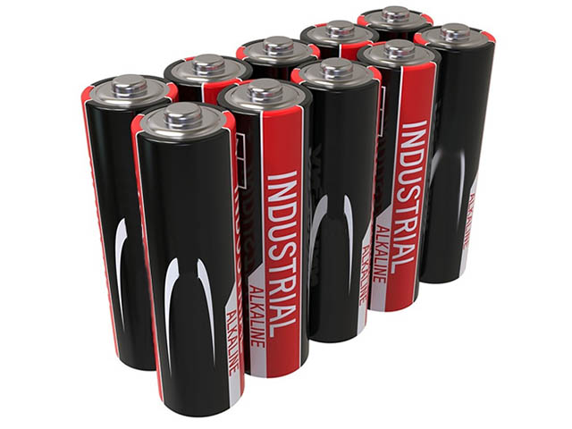 Батарейка AA - Ansmann Industrial Alkaline LR6 (10 штук) 1502-0006