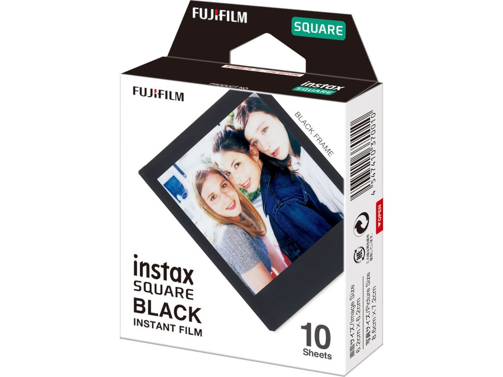 Фото - Fujifilm Instax Square Black Frame для Instax Square SQ6/SQ10/SQ20/Instax Share SP-3 16576532 фотопринтер instax share sp 3 white ww