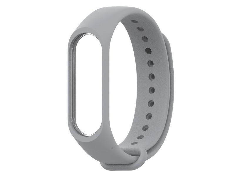 Aксессуар Ремешок Innovation для Mi Band 3/4 Grey 15211