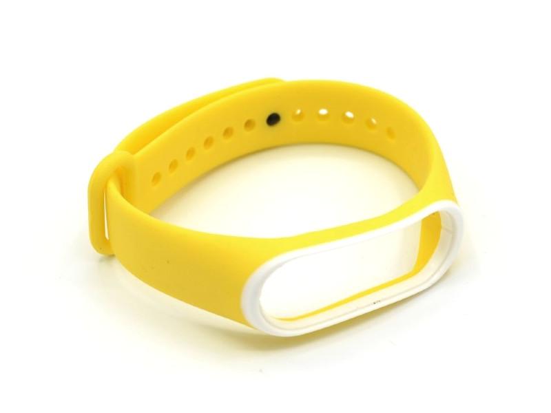 Aксессуар Ремешок Innovation для Mi Band 3/4 Yellow 16234