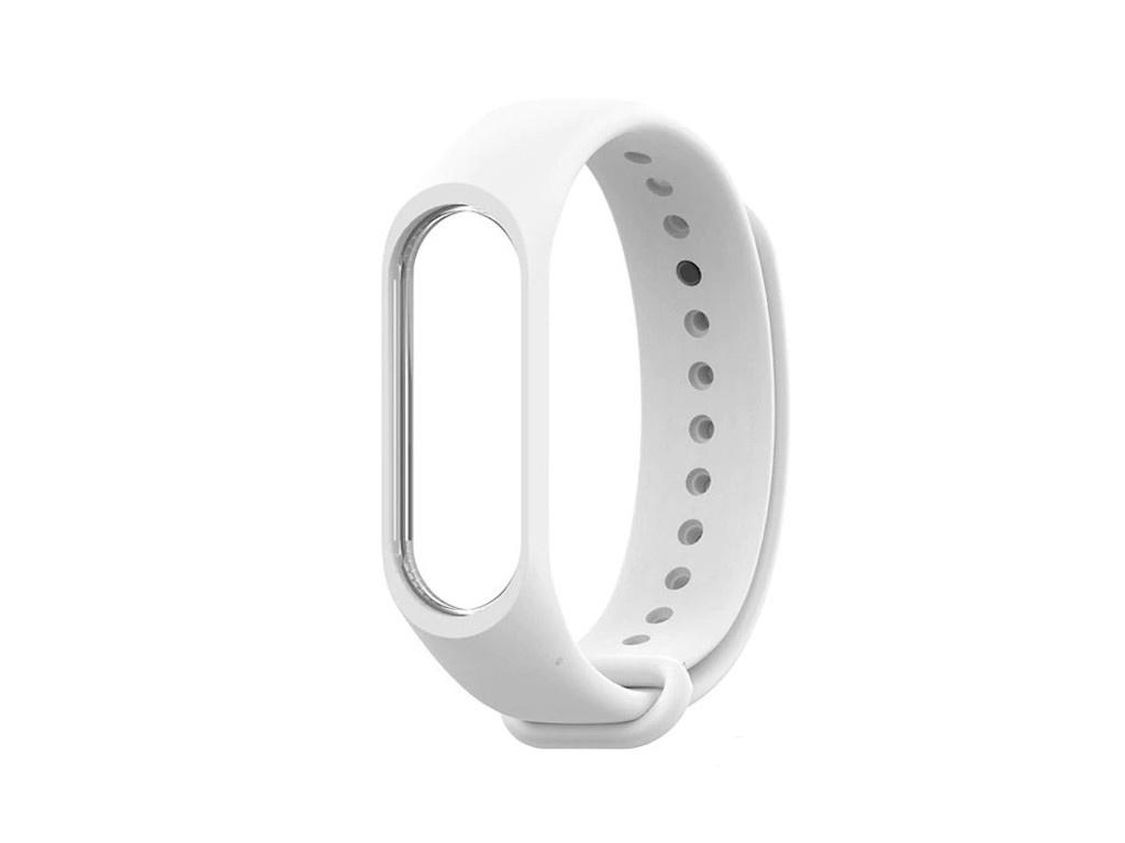 Aксессуар Ремешок Innovation для Mi Band 3/4 White 15209