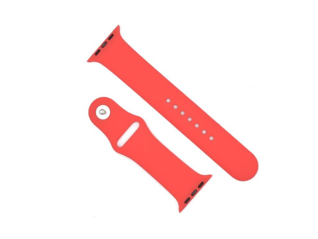 Аксессуар Ремешок Innovation для APPLE Watch 42/44 Red 15017