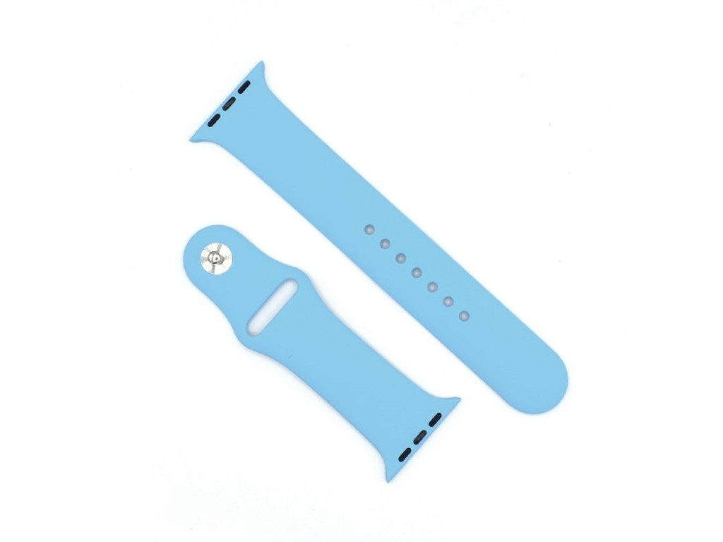 Аксессуар Ремешок Innovation для APPLE Watch 42/44 Light Blue 15003