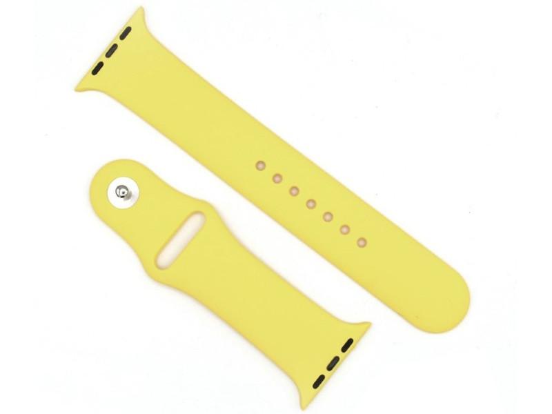 Аксессуар Ремешок Innovation для APPLE Watch 38/40 Yellow 15020