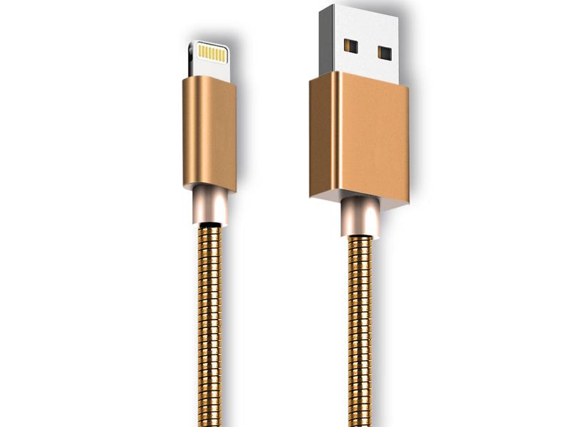 Аксессуар Ginzzu USB - Lighting 1m GC-556G