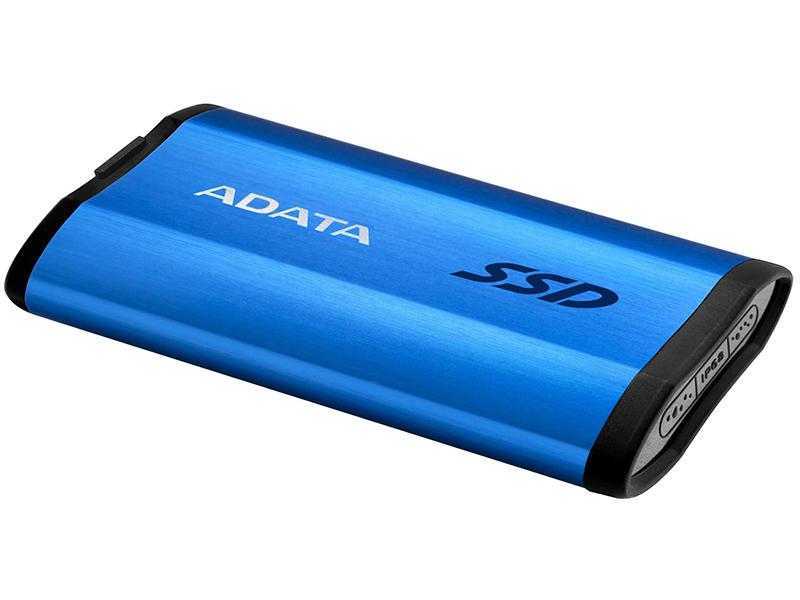 Фото - Твердотельный накопитель A-Data SE800 512Gb Blue ASE800-512GU32G2-CBL внешний диск ssd a data se800 512гб синий [ase800 512gu32g2 cbl]
