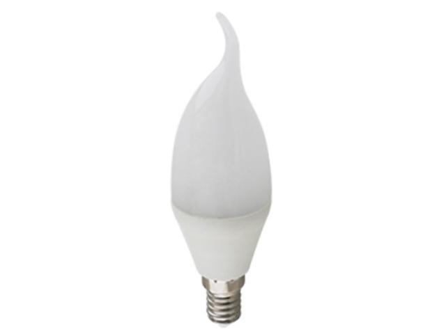 Лампочка Ecola Candle LED Premium E14 10.0W 220V 4000K свеча на ветру C4PV10ELC
