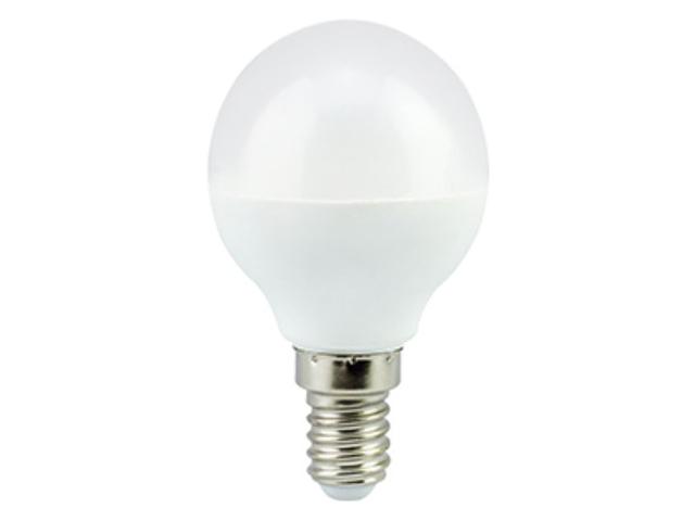 Лампочка Ecola Globe LED Premium 5.4W G45 220V E14 4000K шар K4QV54ELC