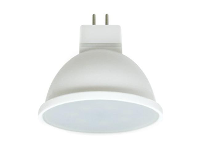 Лампочка Ecola MR16 LED Premium 5.4W 220V GU5.3 2800K матовое стекло M2UW54ELB