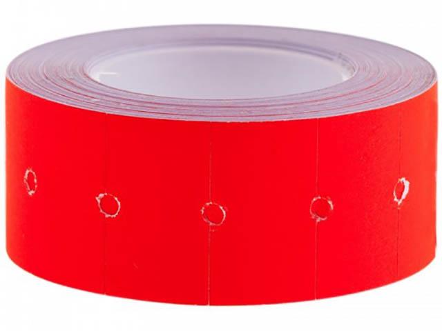 Этикет-лента OfficeSpace 21x12mm 500 этикеток Red Stl_4207