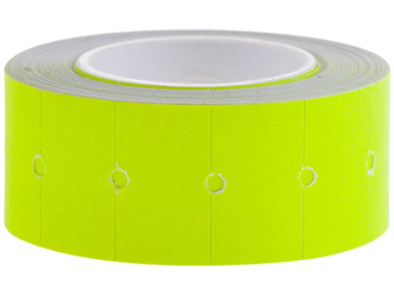 Этикет-лента OfficeSpace 21x12mm 500 этикеток Yellow Stl_4201