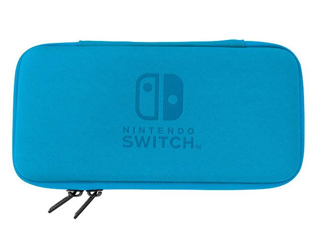 Zakazat.ru: Чехол Hori Slim Tough Pouch Blue-Grey NS2-012U для Nintendo Switch Lite