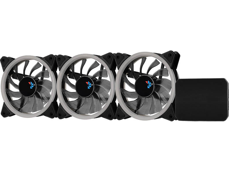 Вентилятор AeroCool Fan Rev RGB Pro 3x120mm 4713105962949