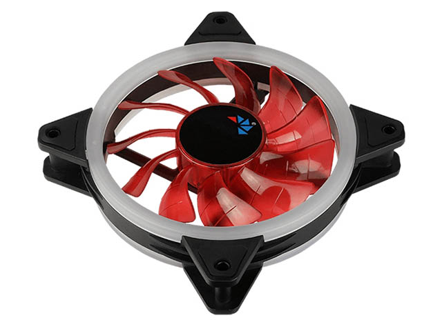 Вентилятор AeroCool Rev 120mm Red Led 4713105960945