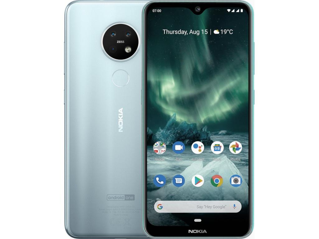 Сотовый телефон Nokia 7.2 (TA-1196) Ice