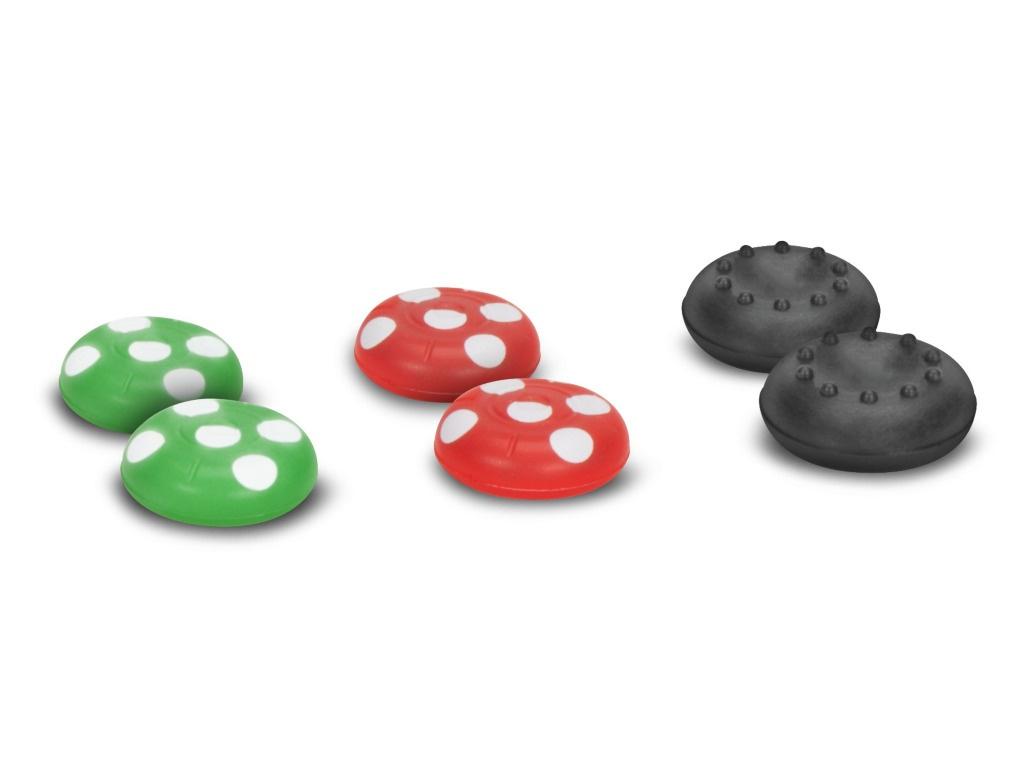 цены Накладки на стики для контроллеров Speed-Link Stix Joy-Con Cap Set для Nintendo Switch SL-330603-MTCL