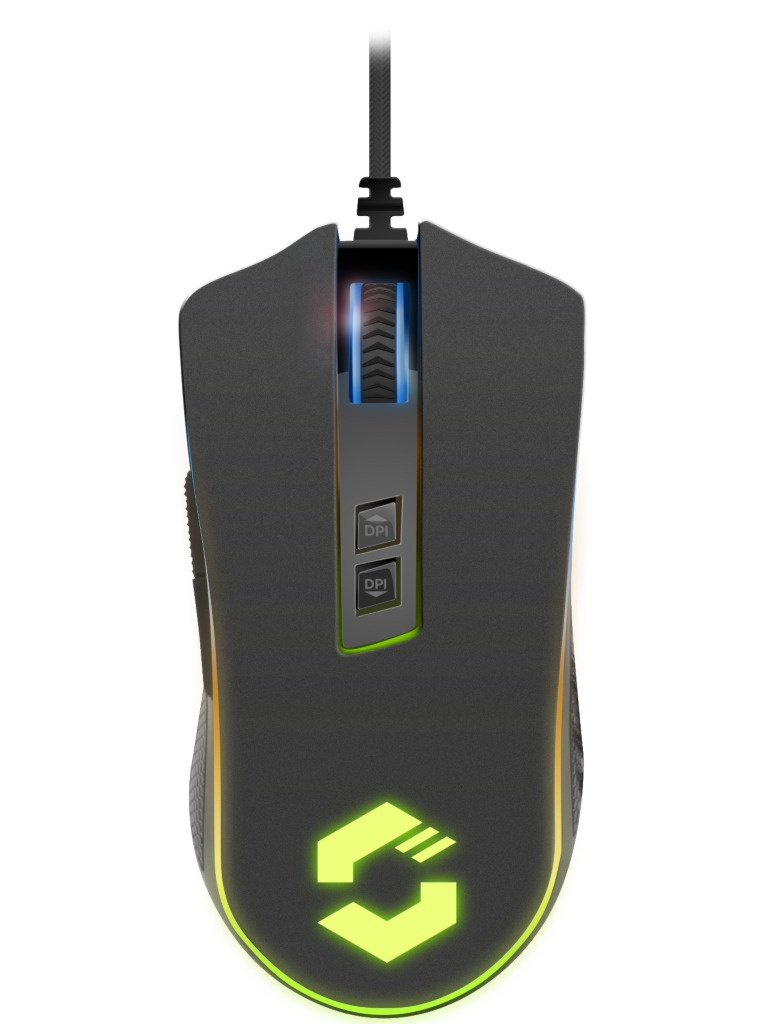 Мышь Speed-Link Orios Gaming RGB Black SL-680010-BK