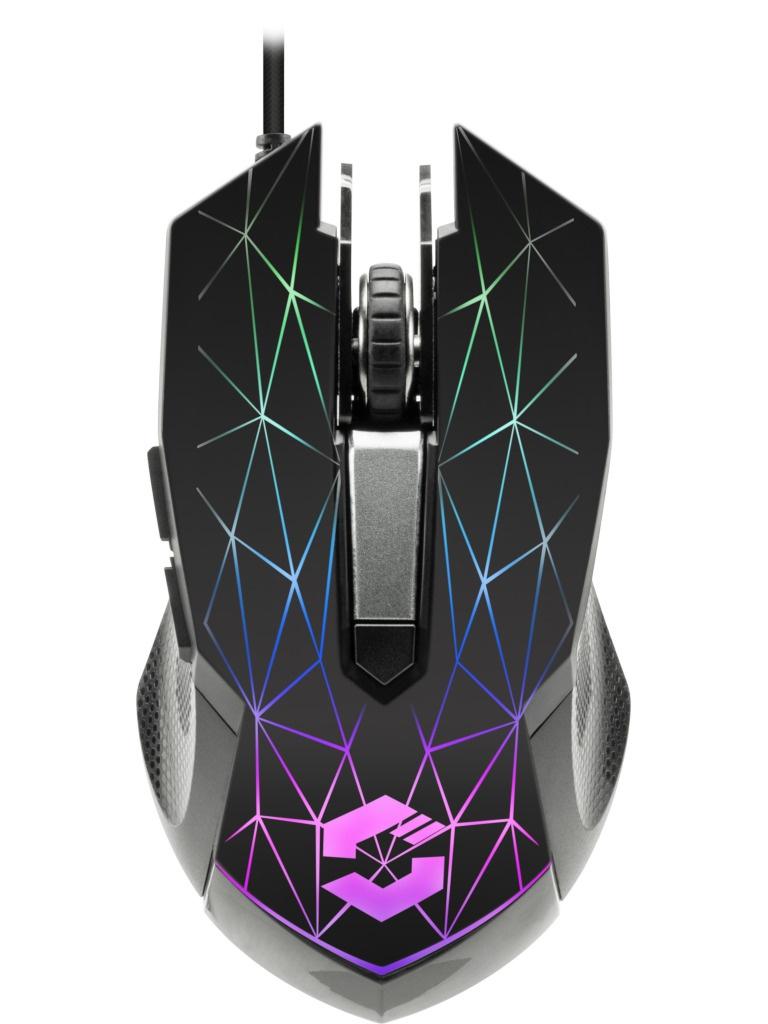 Мышь Speedlink Reticos RGB Gaming Black SL-680011-BK