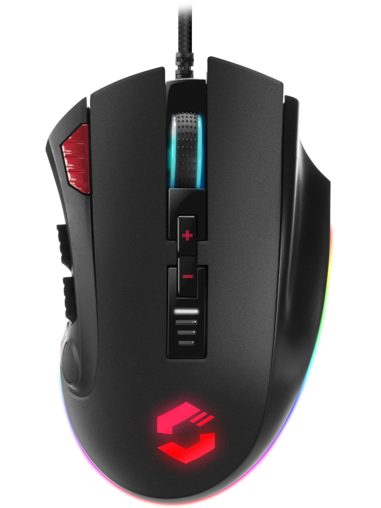 Мышь Speed-Link Tarios RGB Gaming Black SL-680012-BK