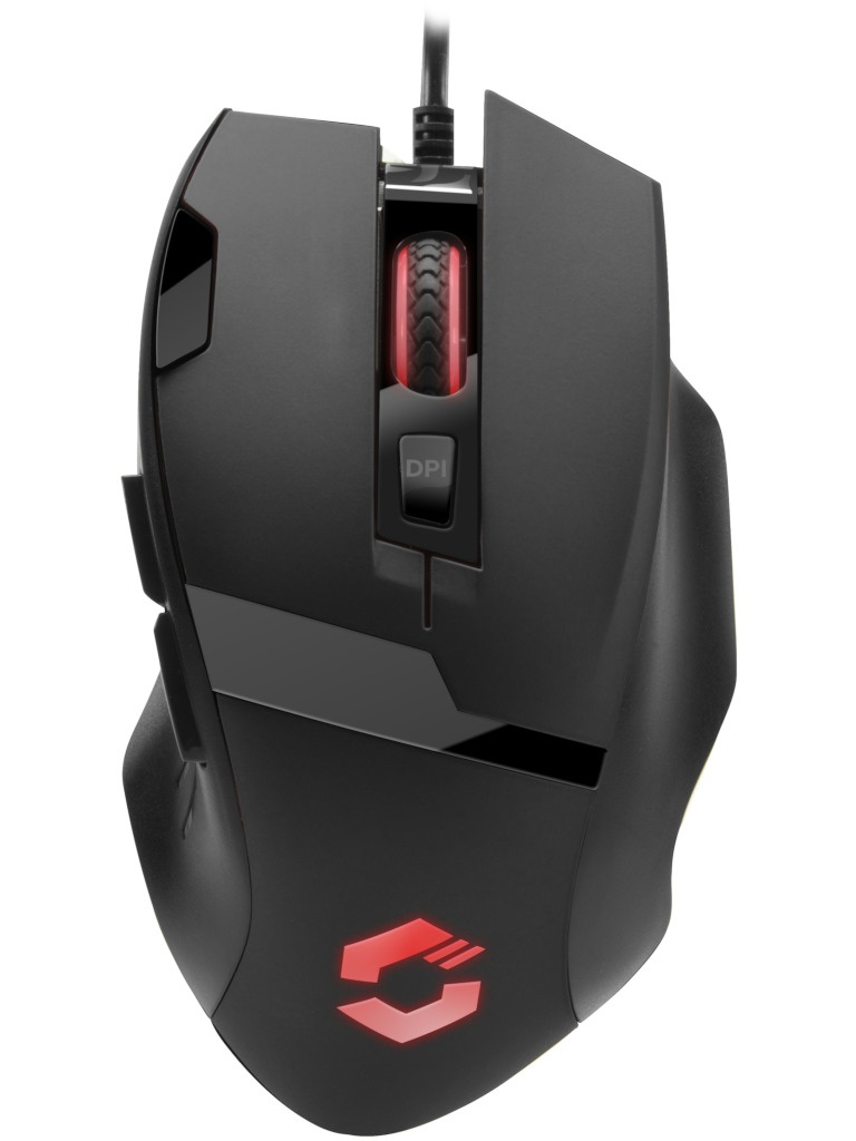 Мышь Speed-Link Vades Gaming Black-Black SL-680014-BKBK
