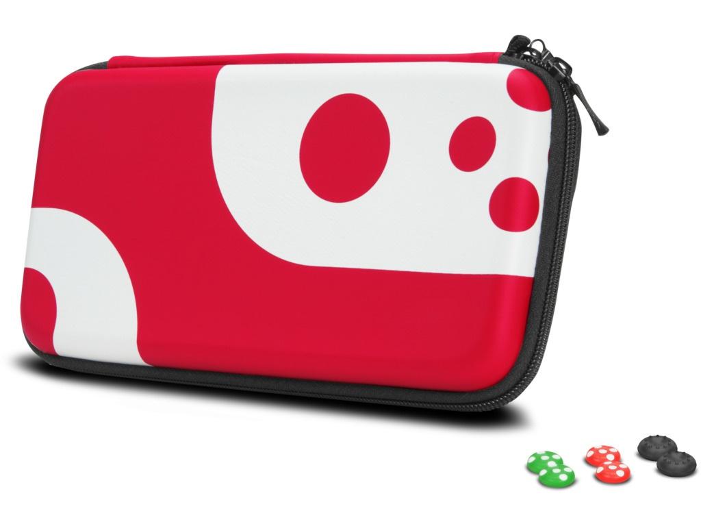 Чехол + накладки для контроллеров Speed-Link Caddy & Stix Protect Nintendo Switch SL-330200-BKRD