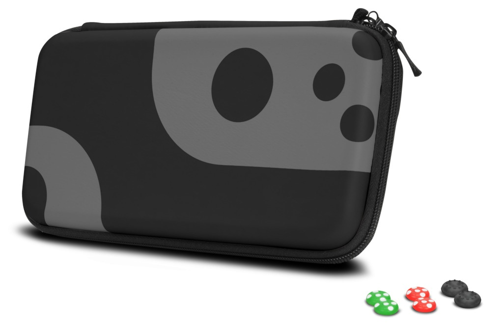 Чехол + накладки для контроллеров Speed-Link Caddy & Stix Protect Nintendo Switch SL-330200-BKGY
