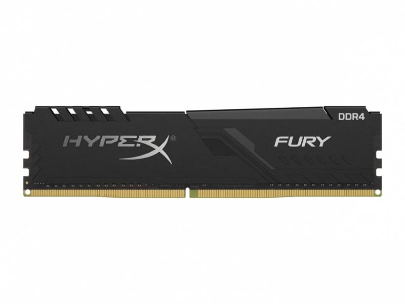 Модуль памяти Kingston HyperX Fury Black DDR4 DIMM 3466Mhz PC-27700 CL16 - 8Gb HX434C16FB3/8