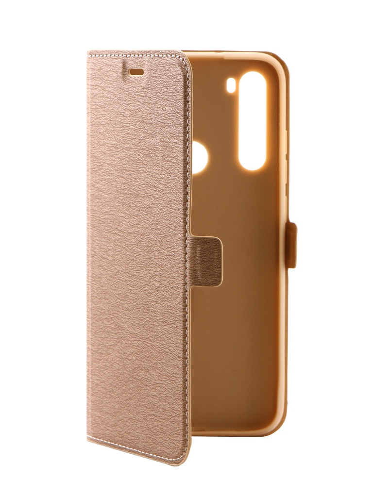 Чехол DF для Xiaomi Redmi Note 8 xiFlip-51 Gold