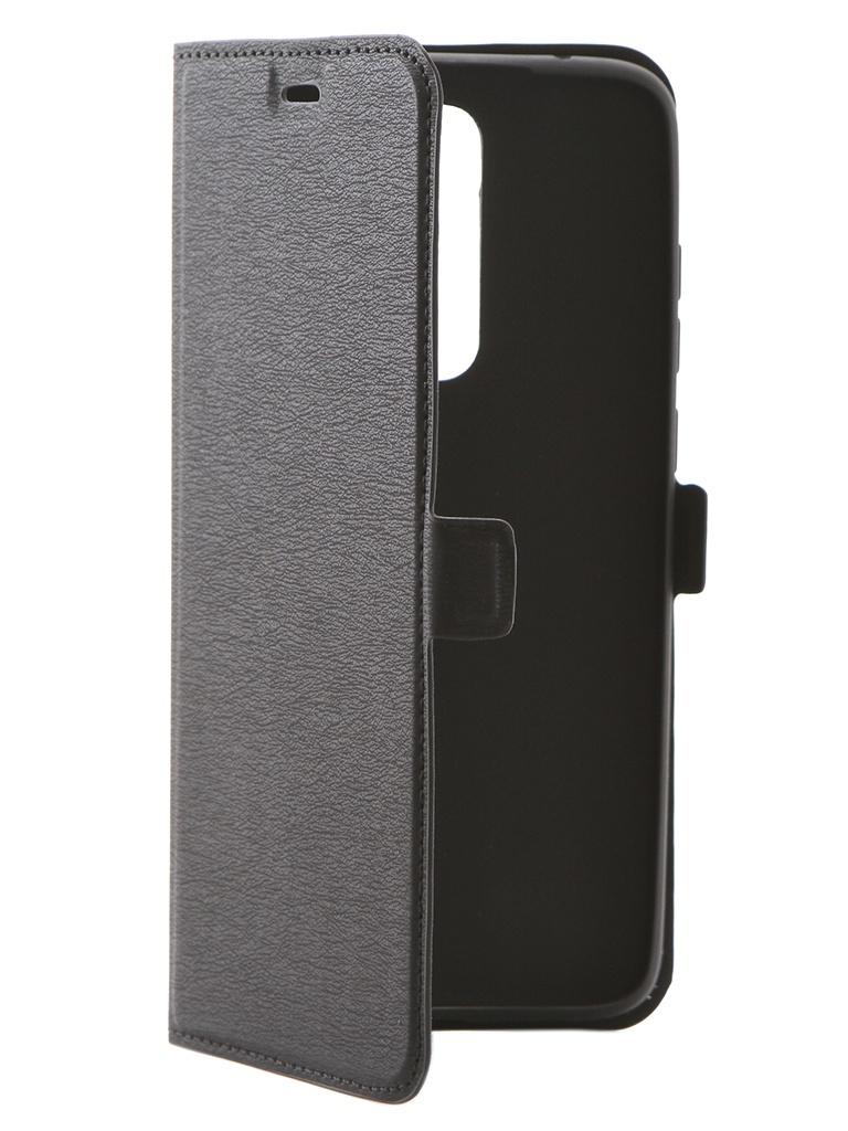 Чехол DF для Xiaomi Redmi Note 8 Pro xiFlip-50 Black