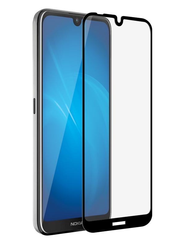 Аксессуар Закаленное стекло DF для Nokia 2.2 Fullscreen nkColor-17 Black