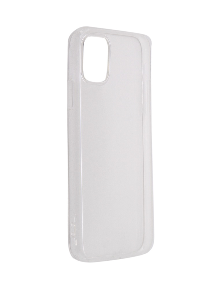 Аксессуар Чехол DF для APPLE iPhone 11 Silicone Super Slim iCase-15