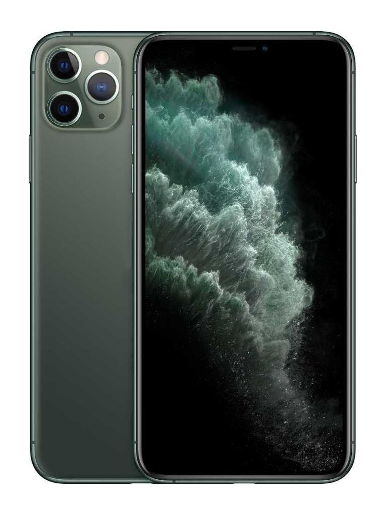 Фото - Сотовый телефон APPLE iPhone 11 Pro Max - 256Gb Midnight Green MWHM2RU/A apple iphone 11 pro max 256gb серый космос