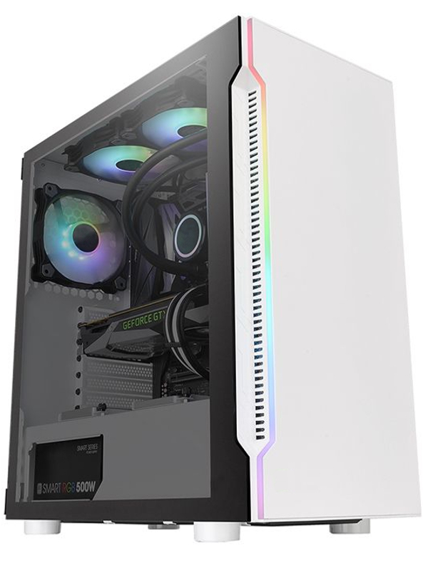 Корпус Thermaltake H200 TG Snow CA-1M3-00M6WN-00
