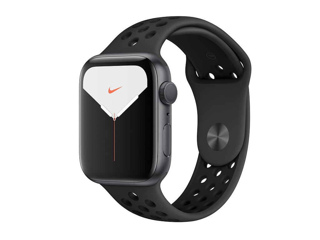 Умные часы APPLE Watch Nike Series 5 44mm Space Grey Aluminium with Anthracite-Black Sport Band SM - ML MX3W2RU/A