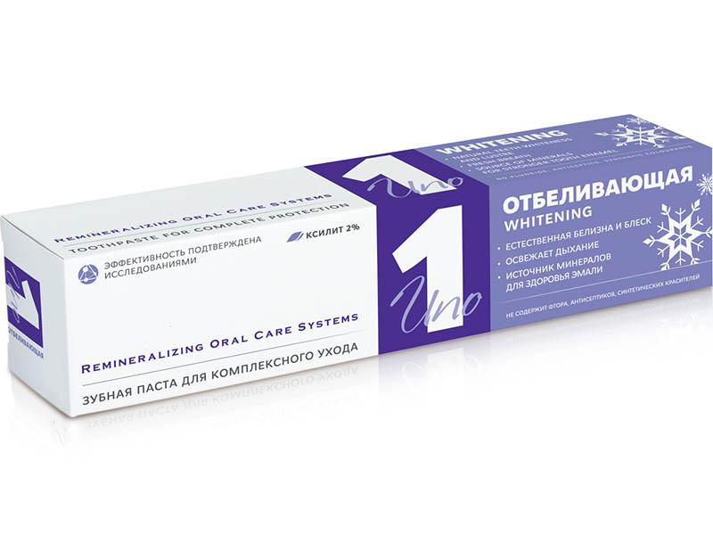 Зубная паста R.O.C.S. UNO Whitening 74g 03-09-001