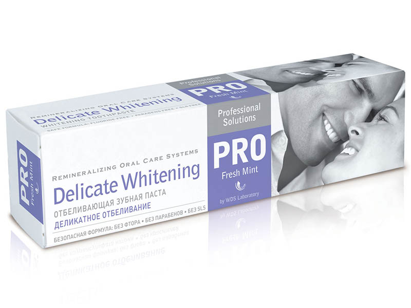Зубная паста R.O.C.S. PRO Деликатное Отбеливание Fresh Mint 135g 03-08-001