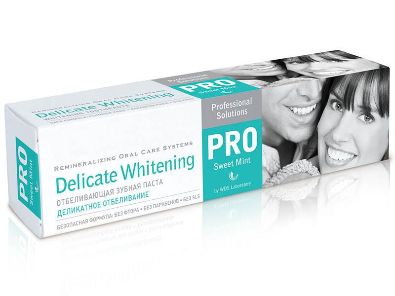 Зубная паста R.O.C.S. PRO Деликатное Отбеливание Sweet Mint 135g 03-08-002