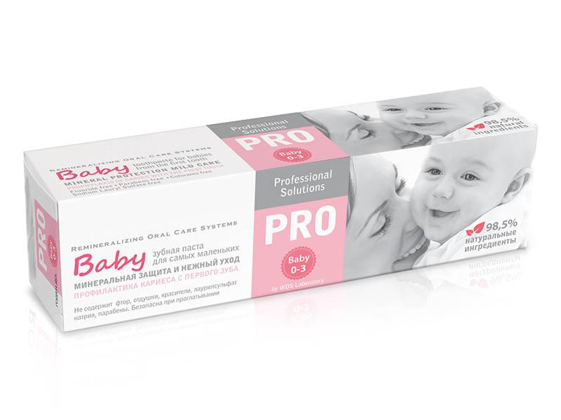 Зубная паста R.O.C.S. PRO Baby Минеральная защита и нежный уход 45g 03-08-004