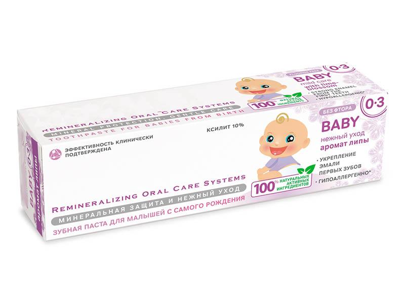 купить Зубная паста R.O.C.S. Аромат Липы 45g 03-01-009 по цене 276 рублей